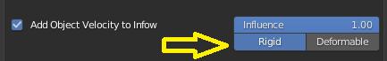 UI: Rigid or Deformable selector